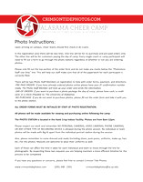 Ironman Cheer Camp Information Packet